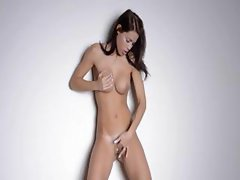 Sexy dance and strip of hot woman