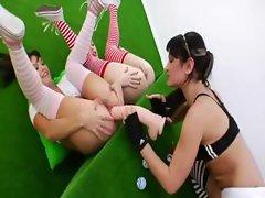 trio of luxury lesbians makinglove hard