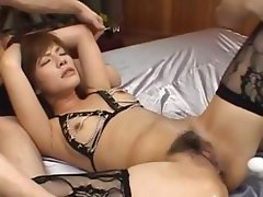 sexy asian anal loving with lingerie