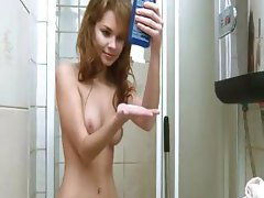 Intimate hygiene and shower finger
