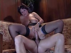 Incredible milf gives him her hot ass