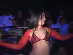 Erotic show with hot strippers