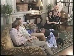 Group party in elegant house with cumshots and fucking