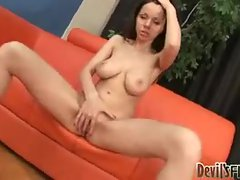 Toy starts her out before she sucks dick