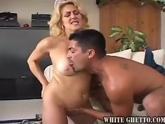 Dick penetrates the nurse in her hot pussy