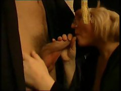 Teacher has her student eat her pussy