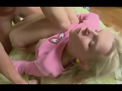 horny russian blonde teen