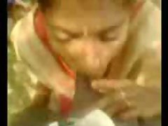 Indian Village girl sucking cock-- By Sanjh