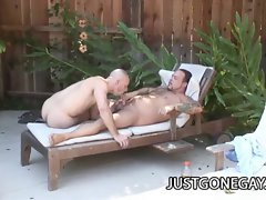 Pool Guy Fucks His Boss