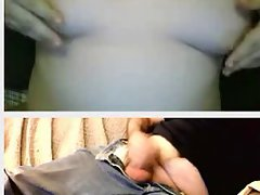 18 chubby girl plays with grampa on omegle