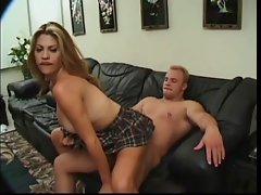 Sexy titty schoolgirl fucked
