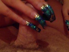 Blue nails 3