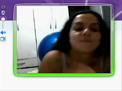 Sandra Xavier 30 anos na Webcam MSN