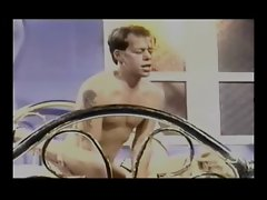 Randi Storm + John Decker - Hot Sex on a Fancy Brass Bed