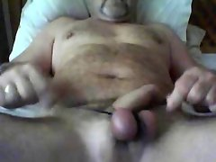 CBT Tied balls and having a wank