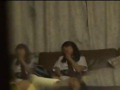 SchoolGirl find erotic movies in my room