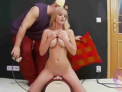 Terry on the sybian