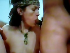 AndreaSex Slut Fucking in Gang Bang