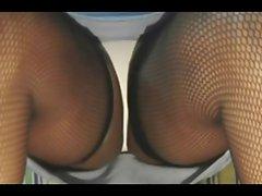 TGirl Slow Sexy Thighs Upskirt 172xh