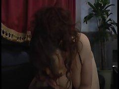 Huge mature hostess of buttocks