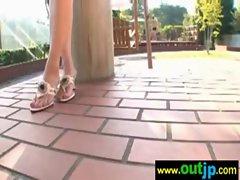 Outdoor Sexy Teen Asian Get Nailed video-13