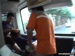 Asian Flashing And Banging Hard video-18