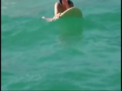 Bikini teen picked up on boat from surfing and sucks and fucked