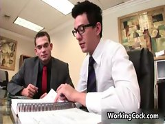 Seth Roberts suck and fuck in office gay video