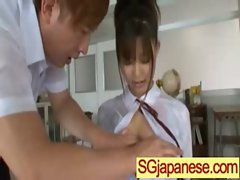 Asians In School Uniform Get Fucked Hard vid-27
