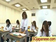 Asians In School Uniform Get Fucked Hard vid-34
