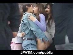 Public Sex Japan - Sexy Japanese Teens Fucked in Public 22