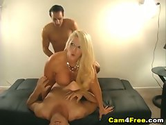 Hot jizz unloaded on her face in hd