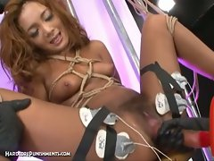 Sizzling hot extreme bdsm punishment of japanese slut asuka