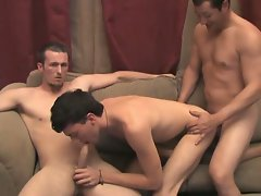 Horney boys pumping and blowing cocks