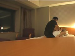 Japanese wife fucked hard by her husband's cock !