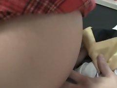 Bratty school girl punishes horny teacher
