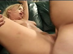 Lucky midget gets to fuck hot blonde
