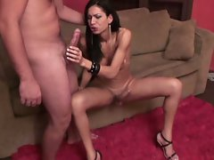 Supermodel renata arouja tranny action