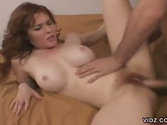 Come on in and join Mega boobed this redhead slut as she takes you...