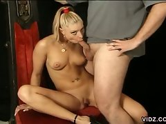 Take a closer look on this mesmerizing, pretty youngster blonde slut...