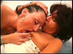 Come join these two mature brunette bitches, Katalin and Szabo, as...