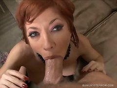 Busty redhead milf Brittany O\'Connell is hot as hell and begging the...