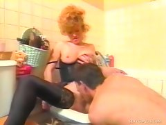 The lucky guy who gets to screw delicious redhead MILF Fontaine is in...