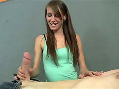 Kaci loves beating off big dicks, and when she gets a sight of Joey's...