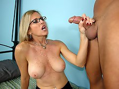 Mrs. Jameson loves making young guys nut. Ever since her divorce, the...