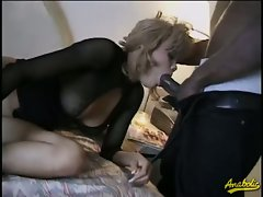 Two sluts and two big black cocks to fuck hard...