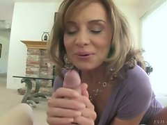 Cock starved cougar getting down and dirty in this POV movie...