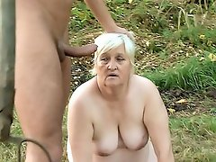 Anna Mary likes it nasty and as she crawls around the park with her...