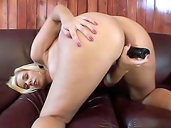 Busty blonde Rachel Solari has everything a man could ever want, huge...