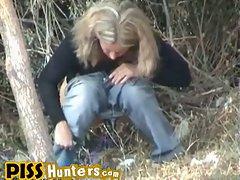 Forest urine spied...